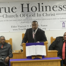 Pastor Vincent T. Edwards