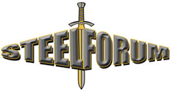 The Steel Forum logo
