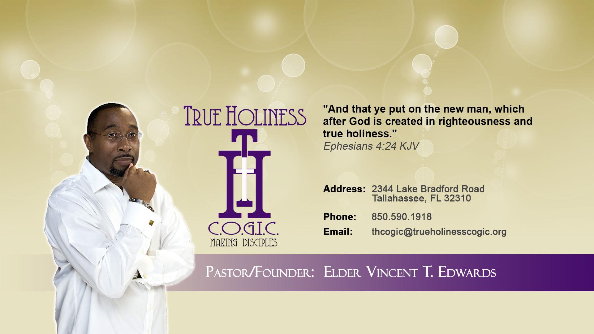 Elder Vincent T. Edwards
