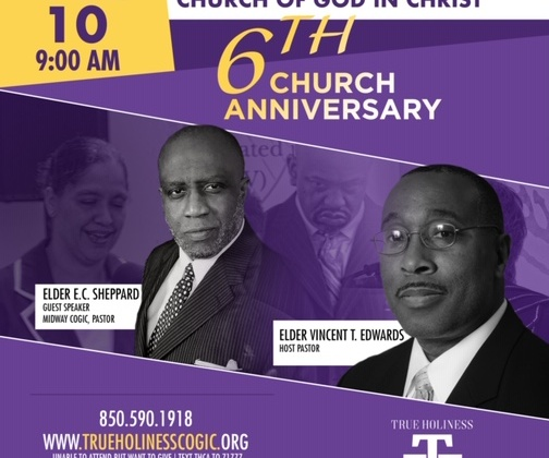 True Holiness Church of God In Christ 6th Church Anniversary