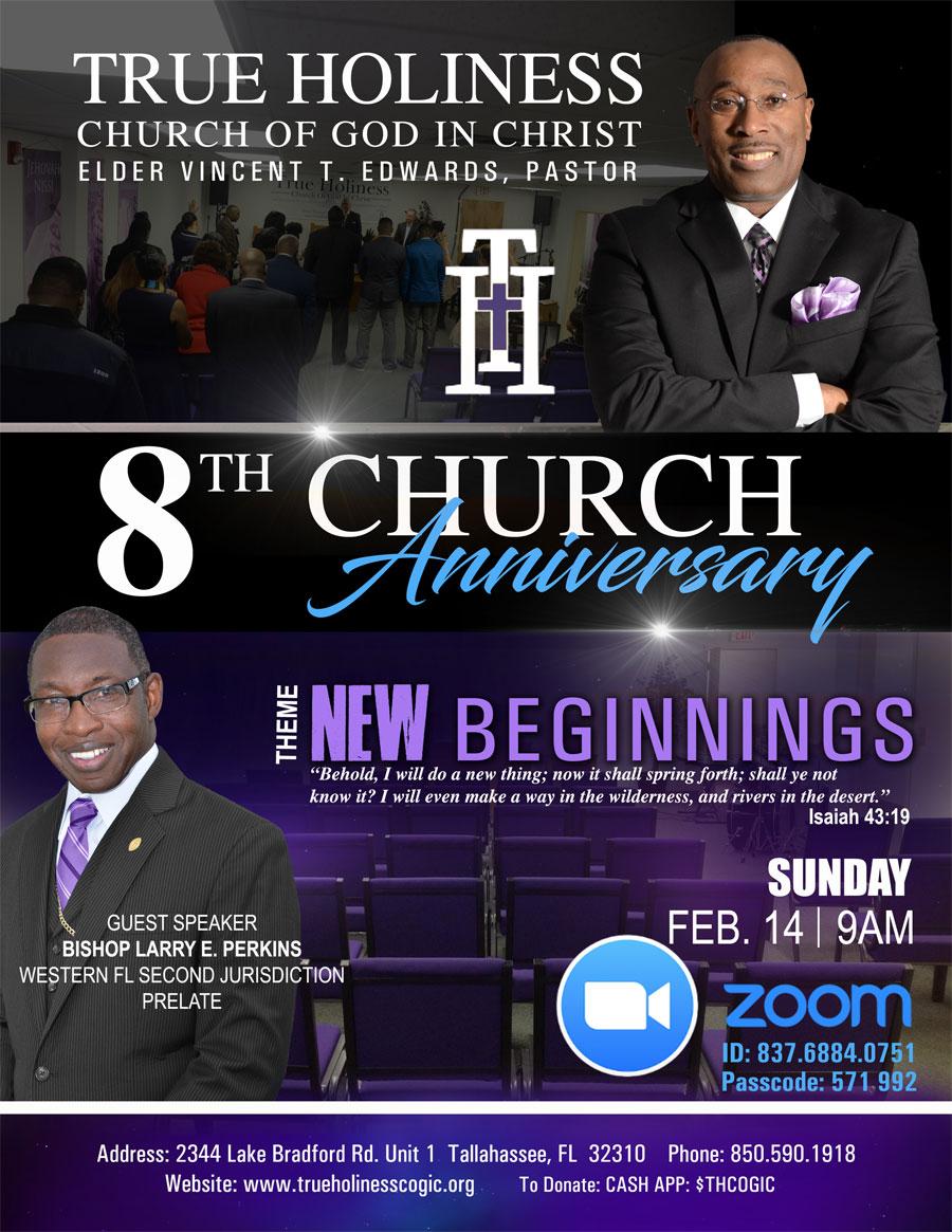 8th Church Anniversary